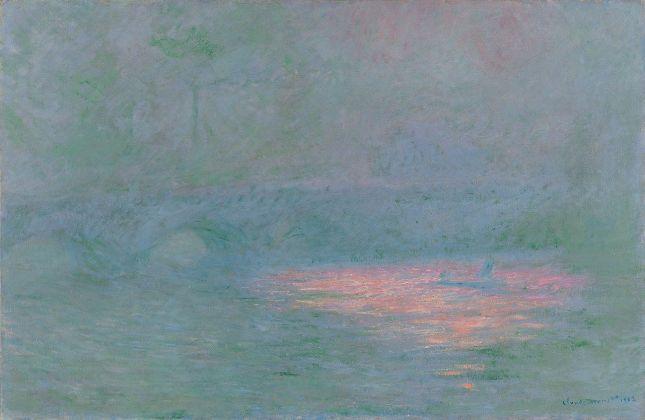 Claude Monet, Il ponte di Waterloo, 1902. Kunsthaus Zürich