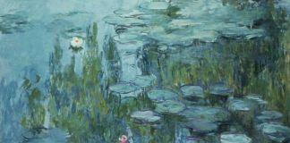 Claude Monet, Ninfee, 1915. Neue Pinakothek, Monaco di Baviera