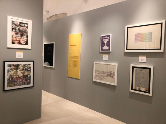 Costanti/Varianti. Exhibition view at Palazzo della Corte, Noci 2018