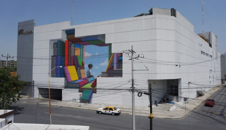 Dorothy Circus Gallery - Seth, Outdoor Mural Painting