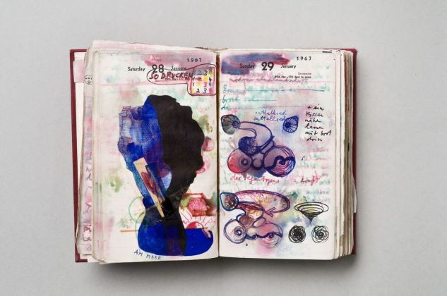 Dieter Roth, Diary, 1967. Photo Michael Pfisterer © Dieter Roth Estate. Courtesy Hauser & Wirth