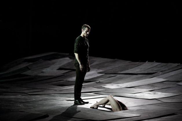 Dimitris Papaioannou, The Great Tamer. Photo Julian Mommert