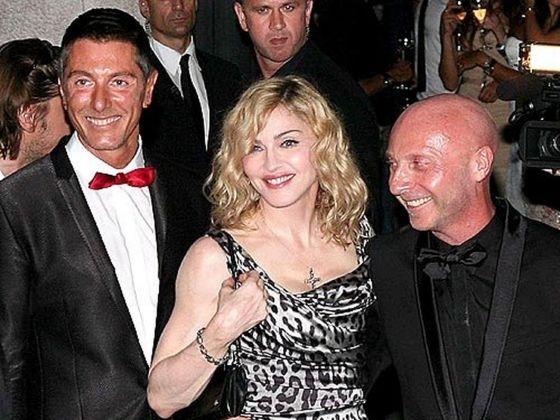 Dolce & Gabbana insieme a Madonna