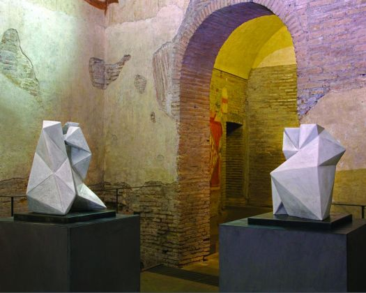 Domestica. Mara van Wees. Case Romane del Celio, Roma 2018