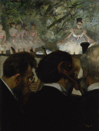 Edgar Degas, Gli orchestrali, 1872. Städel Museum, Frankfurt am Main © Städel Museum U. Edelmann Arthothek