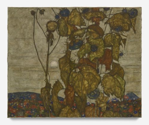 Egon Schiele, Autumn sun (Sunflowers), 1914, Private collection. Courtesy of Eykyn Maclean Picture: Courtesy of Eykyn Maclean