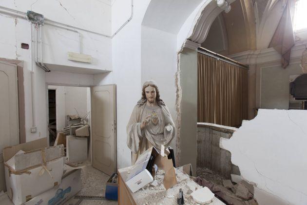 Enzo Francesco Testa. Chiesa di Sant'Agostino. L'Aquila 2016