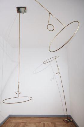 Equilibrium. Exhibition view at Mazzoleni, Torino 2018. Luciano Fabro. Courtesy Mazzoleni © Alto Piano_Fotografia Agostino Osio