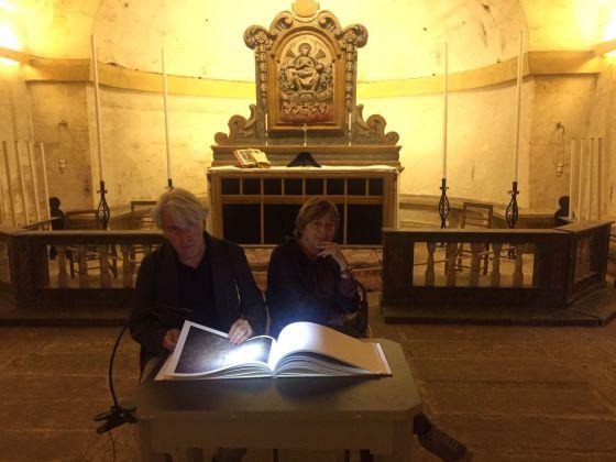 Eulalia Valldosera, Stars our ancestors, 2018. St Catherine's Parish Church Crypt, Żejtun, Malta. Photo © Ton Granero