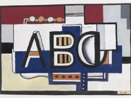 Leger ABC, 1927 @ADAGP Paris and DACS London 2018