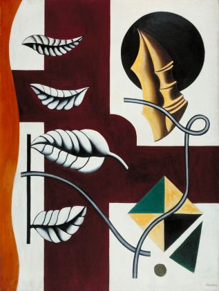 Fernand Léger, Leaves and Shell (Feuilles et coquillage) 1927 © ADAGP, Paris and DACS, London 2018