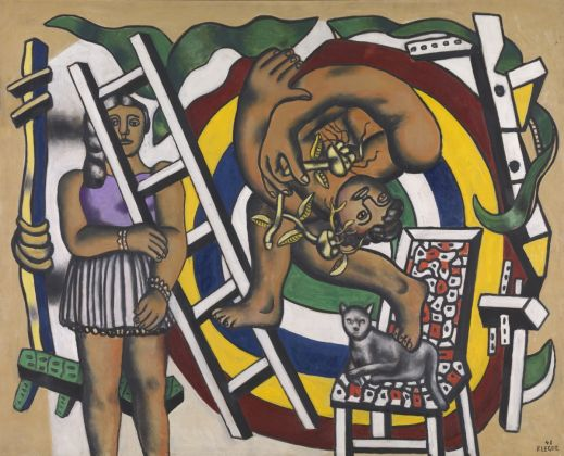 Leger, Acrobat and his partner, T03118