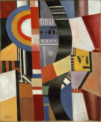 Fernand Léger Composicion. El disco, Museo Nacional Thyssen Bornemisza