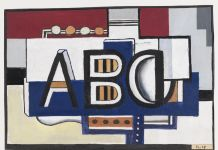 Leger ABC, 1927 @ADAGP Paris and DACS London 2018