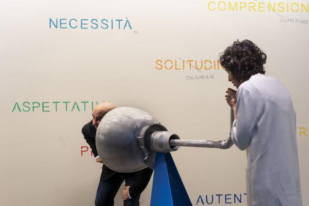L'installazione. Ph Daniele Grillo