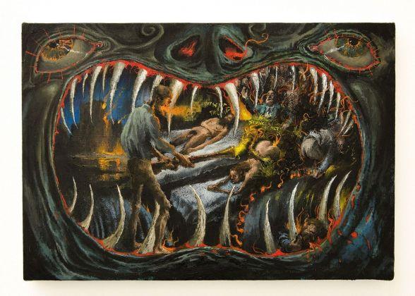 Francesco De Grandi, Bocca dell_Inferno, 2018. Courtesy Rizzuto Gallery, Palermo