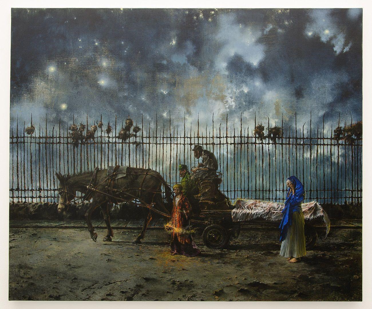 Francesco De Grandi, Compianto al Cristo morto, 2017. Courtesy Rizzuto Gallery, Palermo