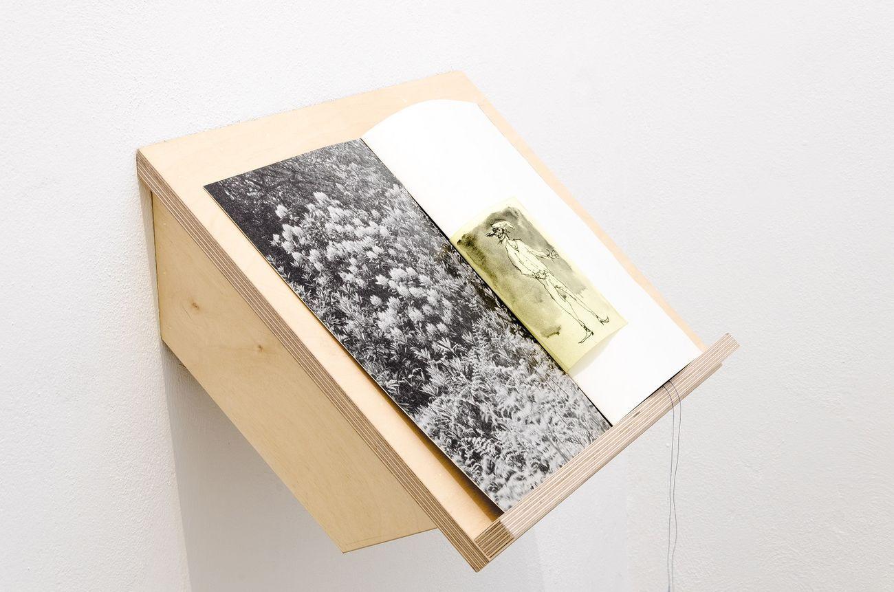 Francesco De Grandi & Federico Lupo, libro d'artista, 2018. Courtesy Rizzuto Gallery, Palermo