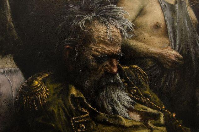 Francesco De Grandi, Flagellazione, 2016, dettaglio. Courtesy Rizzuto Gallery, Palermo