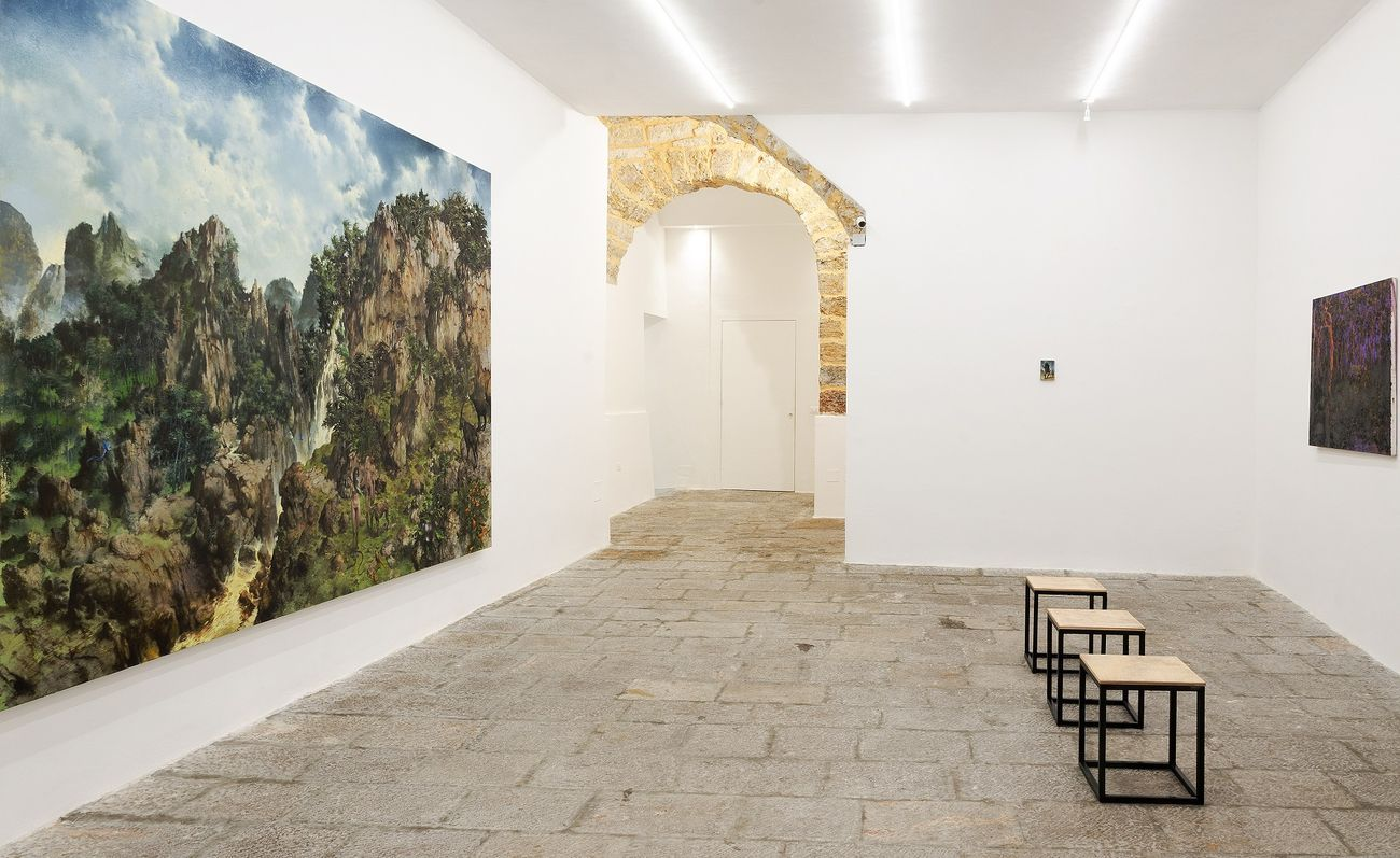 Francesco De Grandi. Come Creatura. Installation view at Rizzuto Gallery, Palermo 2018