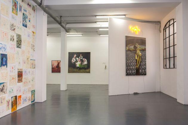 Francesco Lauretta. Due volte. Exhibition view at Galleria Giovanni Bonelli, Milano 2018