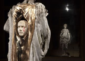 Francesco Vezzoli. C-CUT. Homo Ab Homine Natus. Exhibition view at Galleria Franco Noero, Piazza Carignano, Torino 2018