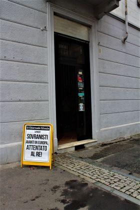 Franco Ariaudo, Giornale ideale, 2018, photo Viviana Mannoia