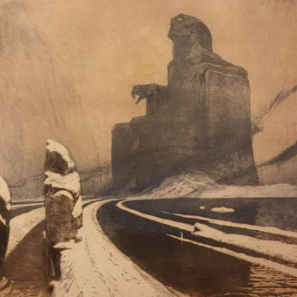 Frantisek Kupka, Idolo nero, 1903, Praga, Patrik Simon's Collection