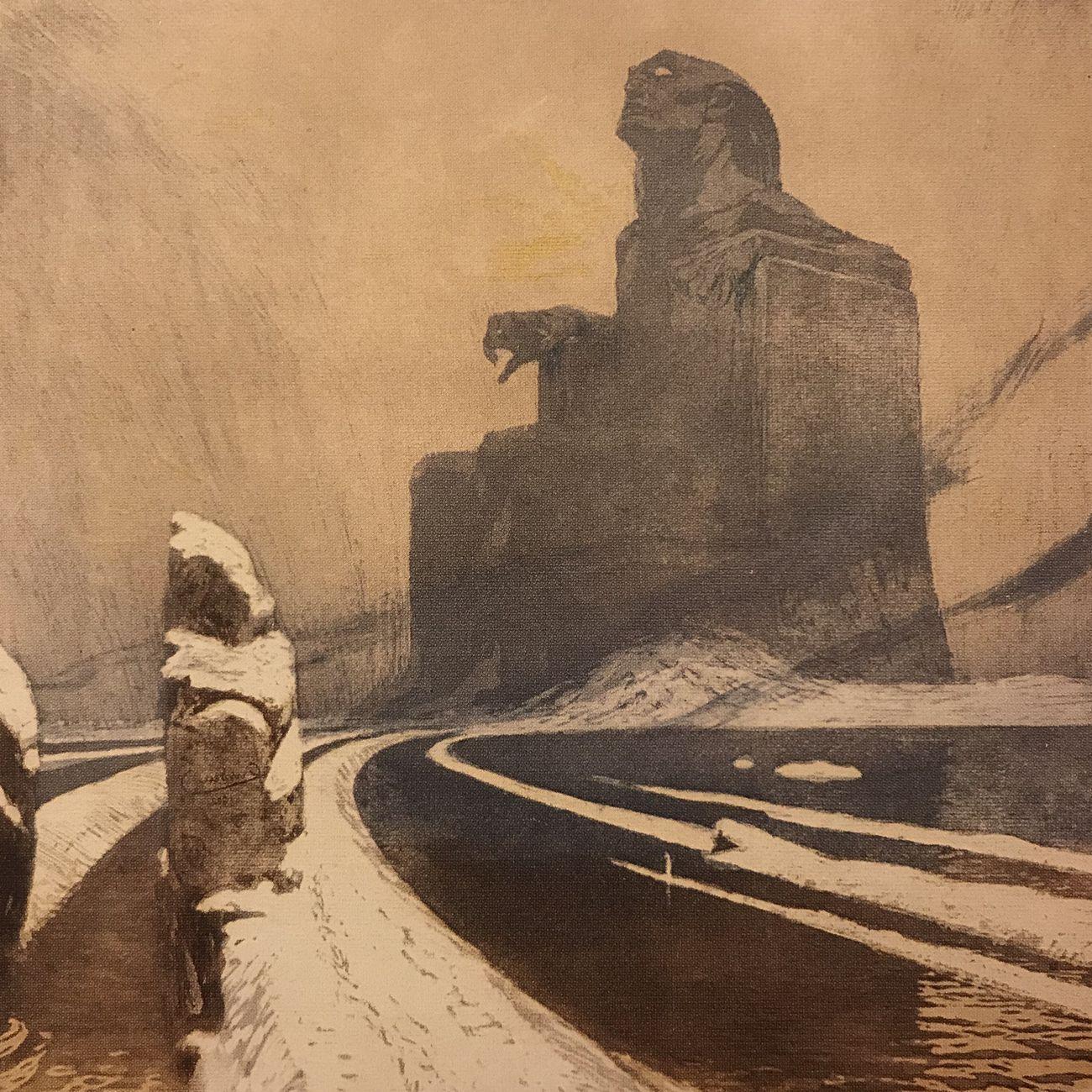 Frantisek Kupka, Idolo nero, 1903, Praga, Patrik Simon's Collection