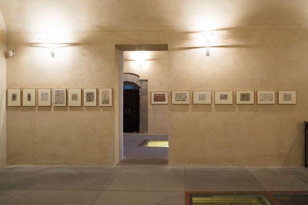 Franz Borghese. Ci rivedremo a Filippi. Exhibition view at Maschio Angioino, Napoli 2018. Photo credit Marina Guida