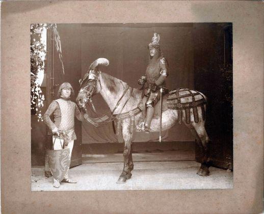 Frederick Stibbert, Corteo storico 1887_Archivio fotografico Stibbert, Firenze