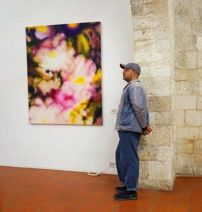 Gaël Davrinche. Exhibition view at Doppelgaenger, Bari 2018. Photo Teresa Imbriani