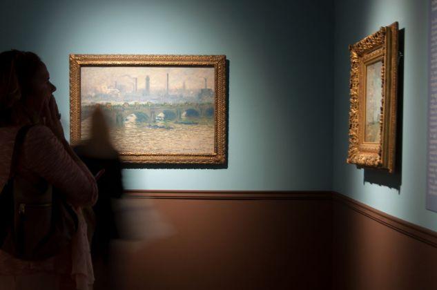 Gauguin e gli Impressionisti. Exhibition view at Palazzo Zabarella, Padova 2018. Courtesy Palazzo Zabarella