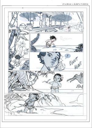 Giada Perissinotto, layout per Oceania graphic novel, 2016