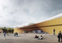 Helsinki Central Library by ALA, main square © ALA Architects