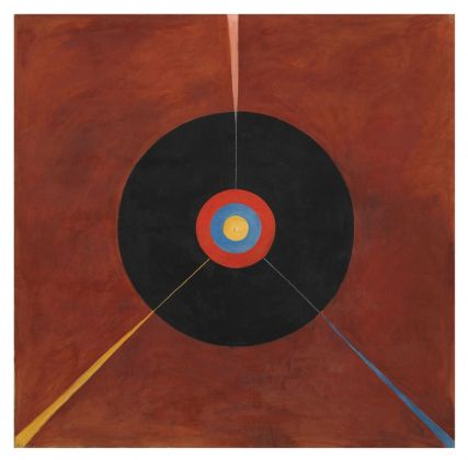 Hilma af Klint, Group IX-SUW, The Swan, No. 8, 1914-15. Courtesy of the Hilma af Klint Foundation. Photo Moderna Museet, Stoccolma