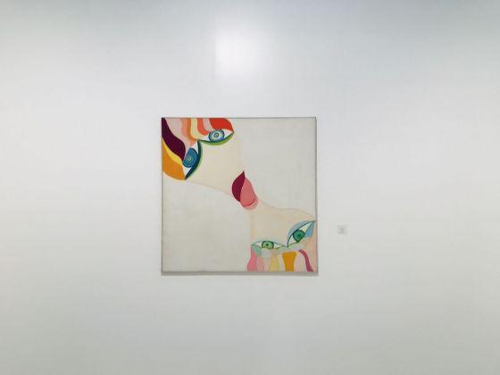 Huguette Caland, Siamois, 1973. Galerie Janine Rubeiz, Beirut