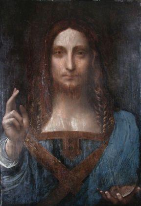 Il Salvator Mundi in una foto prima del 2005