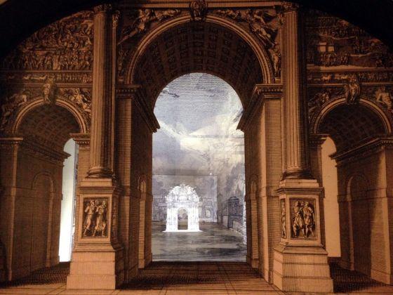 Il dovere della festa. Installation view at Palazzo Bossi Bocchi, Parma 2018