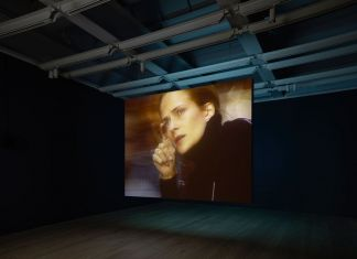 Installation view of Laura Poitras Astro Noise (Whitney Museum of American Art, New York, February 5—May 1, 2016). Photography by Ronald Amstutz
