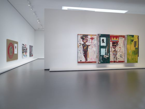 Installation view of the «Jean-Michel Basquiat » exhibition, gallery 9 (level 2), Fondation Louis Vuitton, Paris, from 3 October 2018 to 14 January 2019. © Estate of Jean-Michel