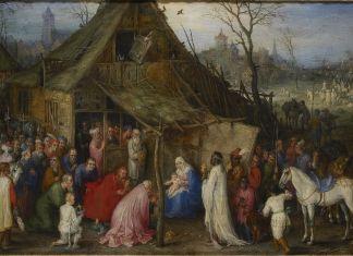 Jan Brueghel the elder, Adoration of the Magi, c. 1600. Antwerpen, Museum Mayer van den Bergh