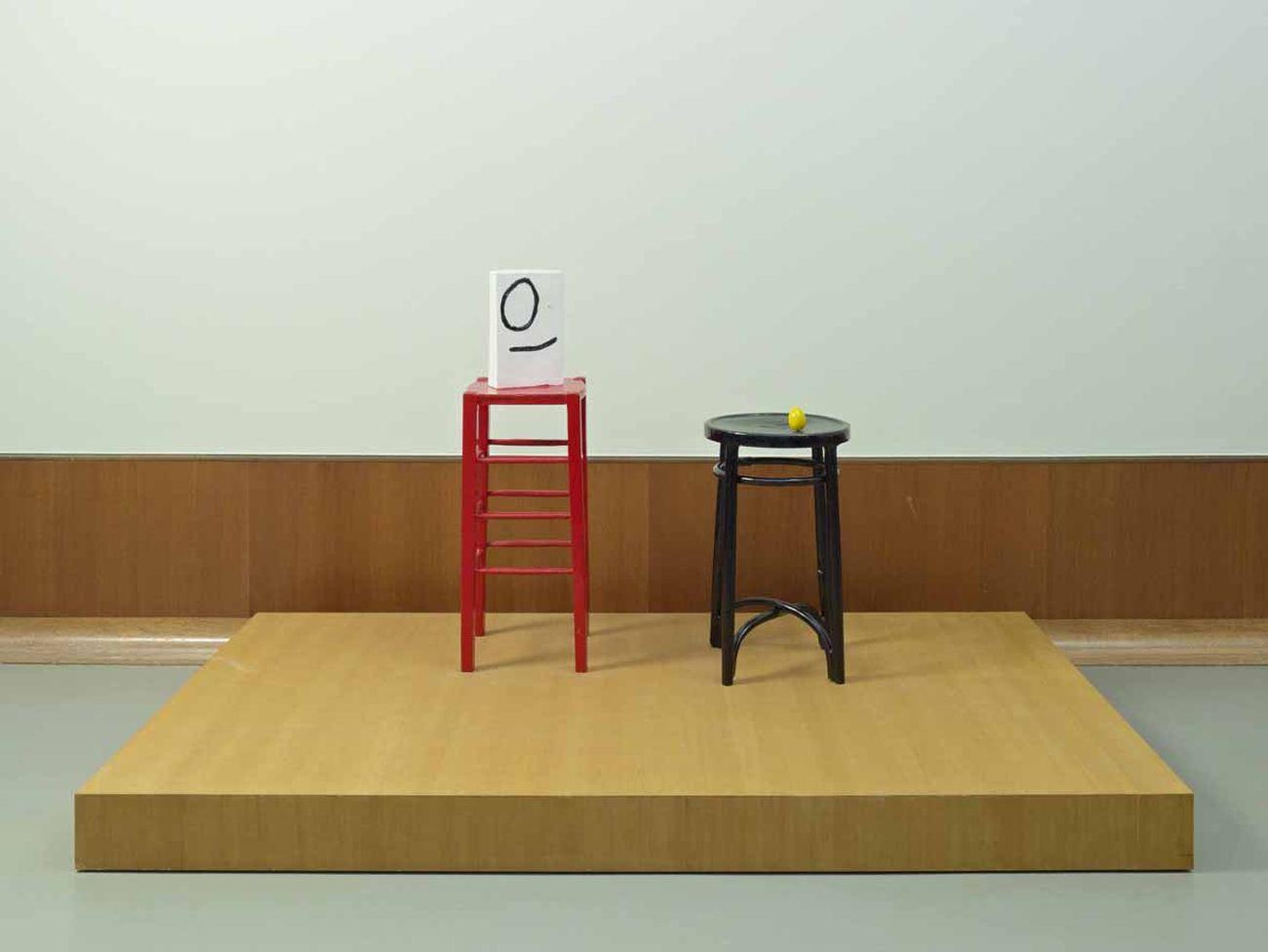 Joan Miró, Monsieur et Madame, 1969. Museum Boijmans Van Beuningen, Rotterdam. Photo Jannes Linders (c) Joan Miró, Successió Miró by SIAE 2018