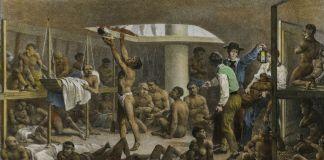Johann Moritz Rugendas, Navio negreiro, 1830 ca. Museo Itaú Cultural, San Paolo del Brasile