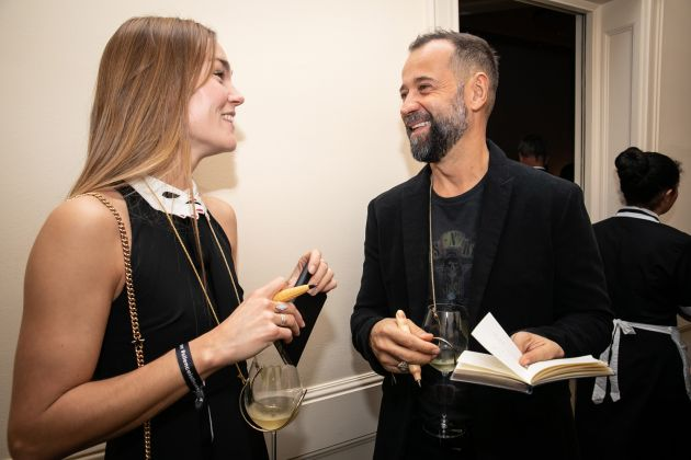 Johanna Maggy e Fabio Volo ©Antinori