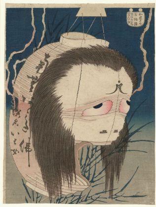 Katsushika Hokusai, I cento racconti di fantasmi. Il fantasma di Oiwa, 1830 ca. MAK – Österreichisches Museum für angewandte Kunst - Gegenwartskunst, Vienna. Photo © MAK - Georg Mayer