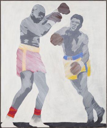 Konrad Lueg, Cassius Clay, 1964. Courtesy Spazio -1, Collezione Giancarlo e Danna Olgiati, Lugano