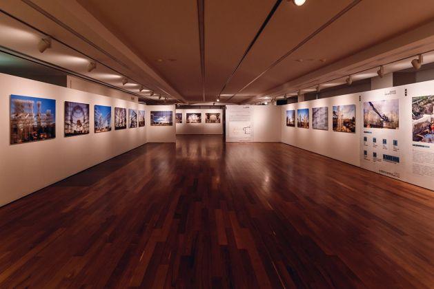 La Basilica di Siponto di Edoardo Tresoldi. Exhibition view at Fondazione Dino Zoli, Forlì 2018. Photo © Filippo Cantoni