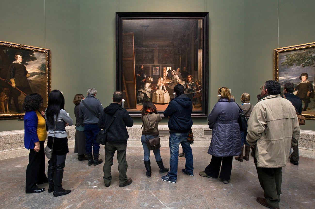 La Sala de Las Meninas. Photo © Museo Nacional del Prado