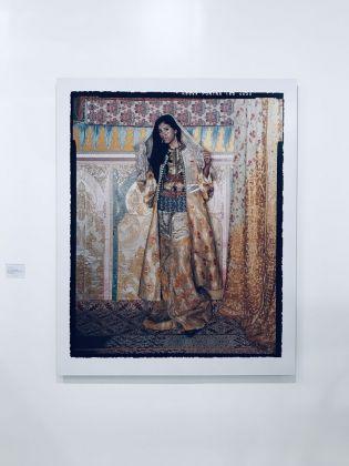 Lalla Essaydi, Harem Revisited #53B. Leila Heller Gallery, Dubai